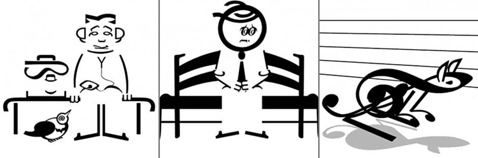 Die Lycette-Zwillinge sind versierte Zauberer, die z.B. typografisch animierte Apps mit ausgewiesenem Retro-Charme erstellen.
