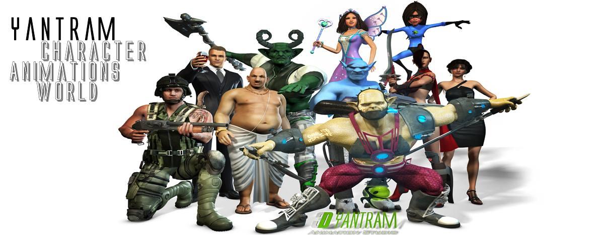 Yantram_Character_animations_studio