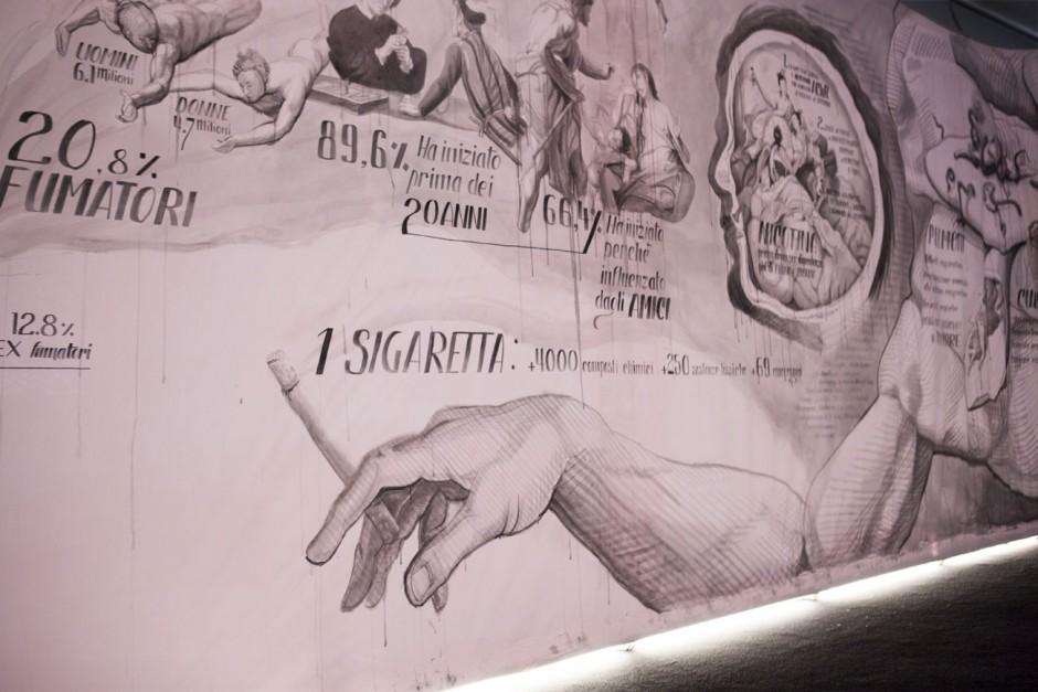 Gold für »Smok-ink« von TBWA\Italy (Mailand). Artist: Gionata »Ozmo« Gesi, Artist Assistent: Mattia Turco. Kunde: Humanitas Hospital and Cancer Center
