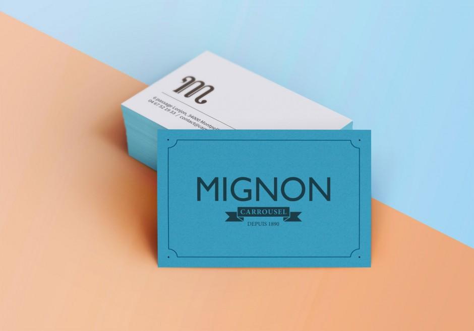 Mignon – Business Card