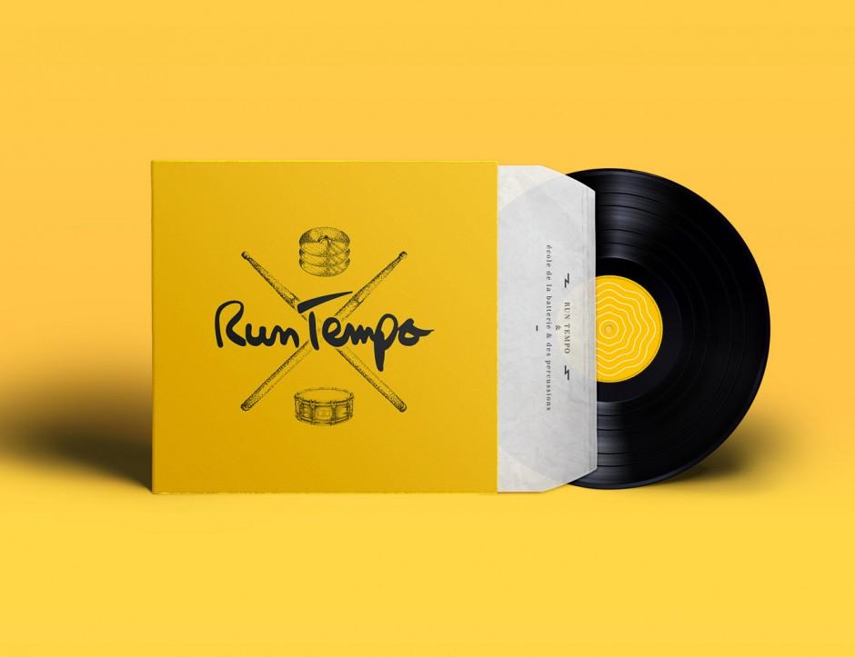 Run Tempo – Vinyl Record Cover