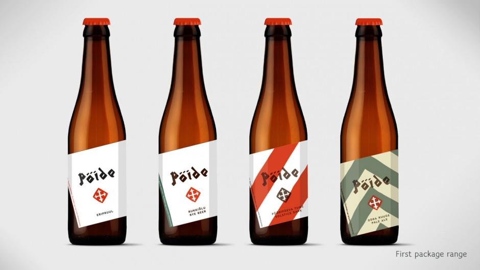 Brau-Art aus Estonie - mit Design von brand manuel: Pöide Beer