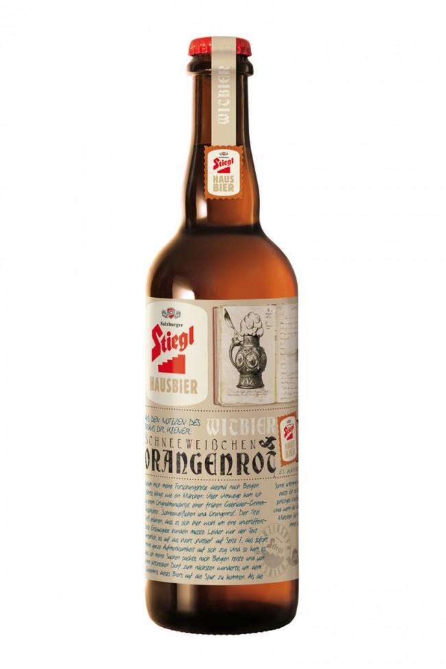 Schneeweisschen: ein weiteres Bier-Design von Demner, Merlicek & Bergmann