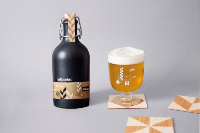 Helldunkel: die Abschlussarbeit der Designstudentin Sung-Hi Leem für eine fiktive Brauerei