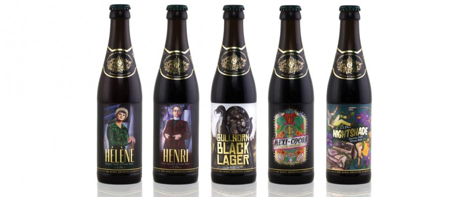 Rebel Brewing Co Craftbeer Range