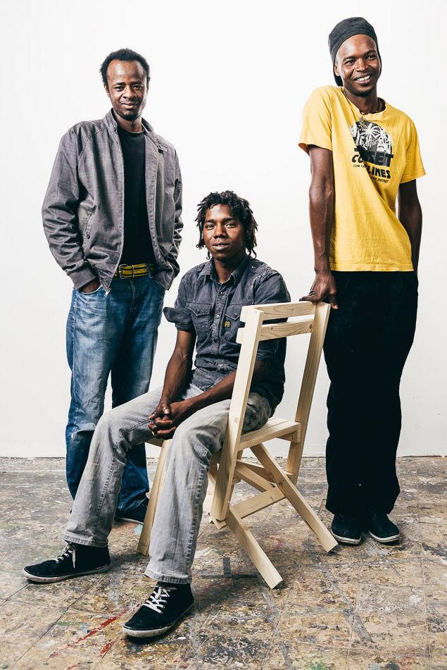 Saidou, Malik & Moussa