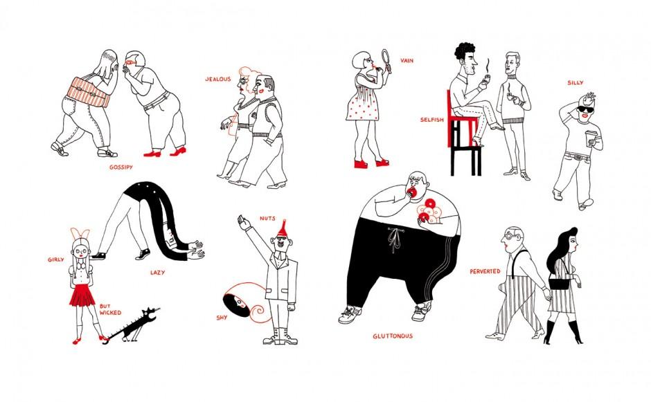 Lucy Gutiérrez: Englisch ist nicht easy. Ein illustrierter Sprachführer. Verlag Antje Kunstmann