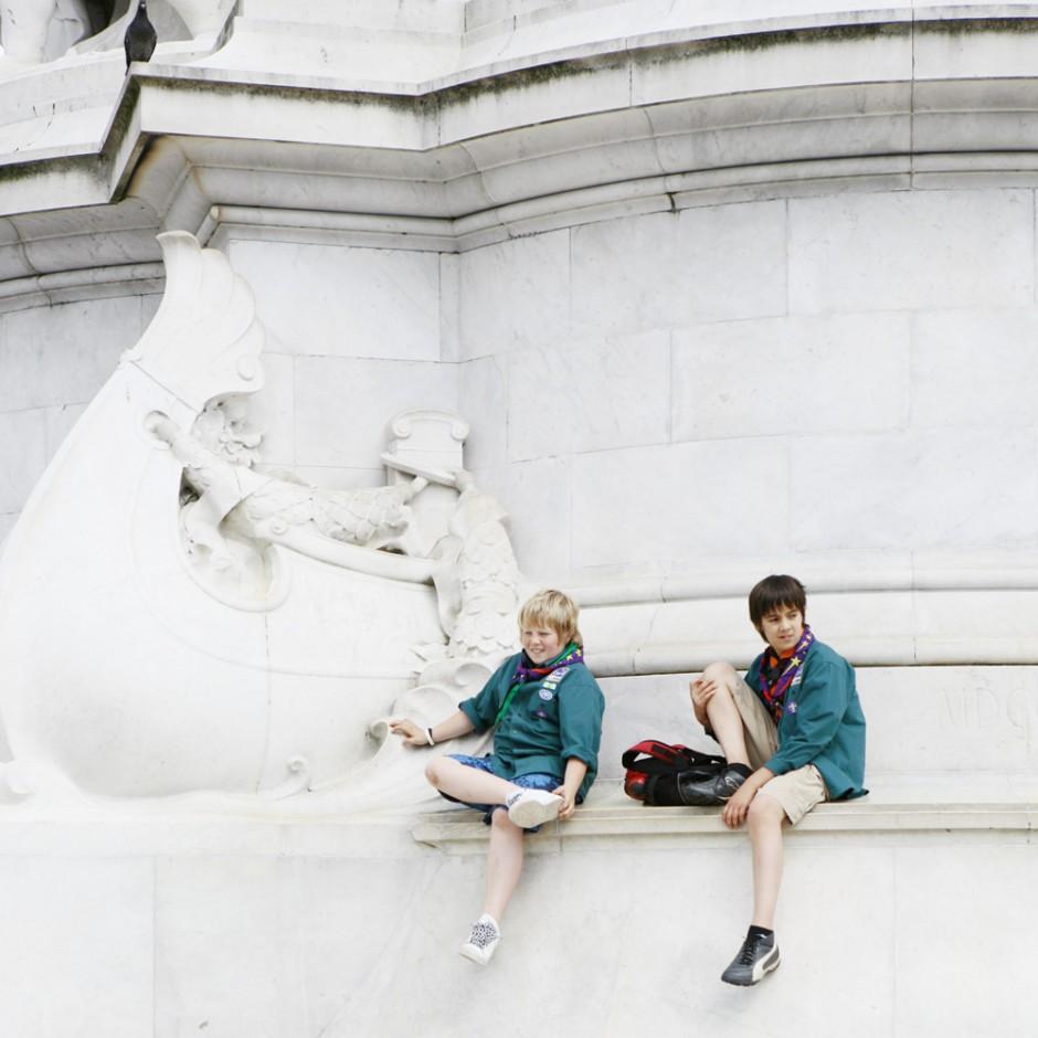 London Victoria Memorial - freie Arbeit