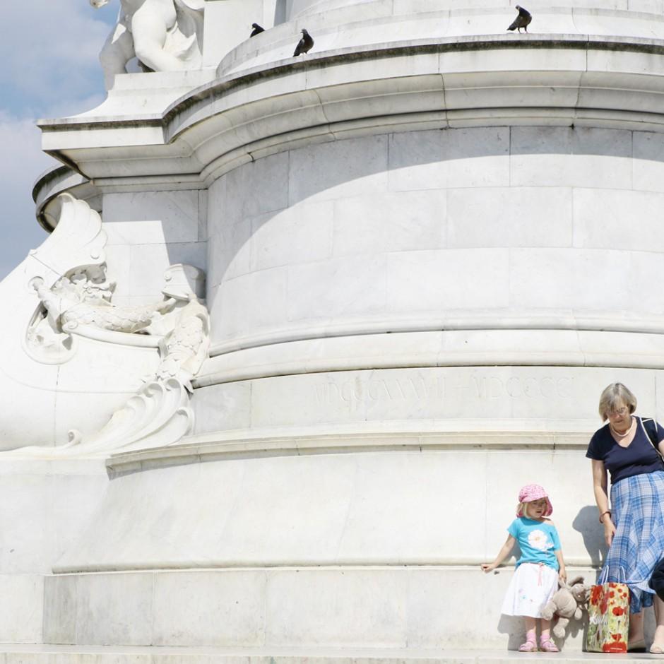 London Victoria Memorial- freie Arbeit