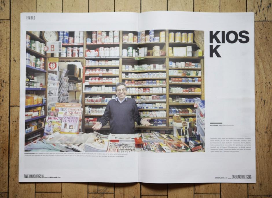 KIOSK -Bildstrecke, erschienen im Hamburger STADTLICHH Magazin