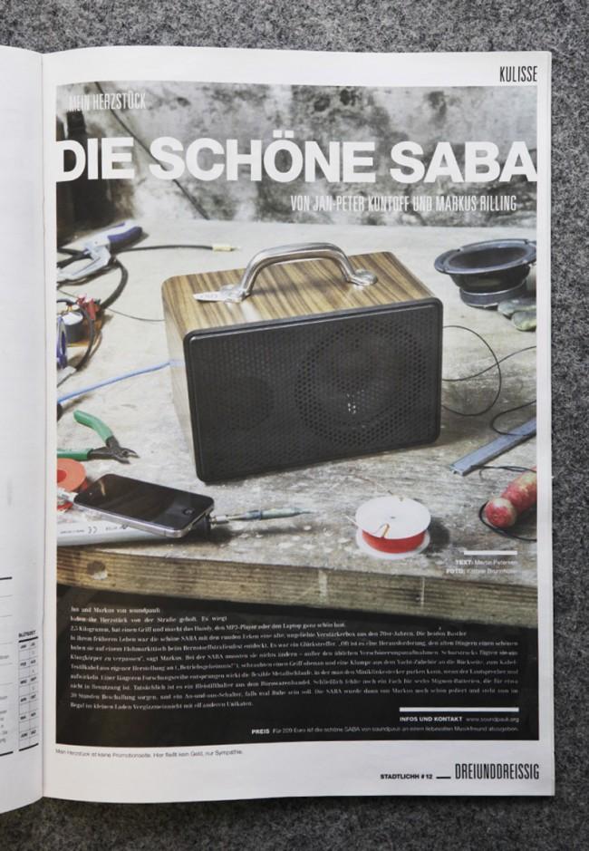 DIE SCHÖNE SABA - Still für dasHamburger STADTLICHH Magazin