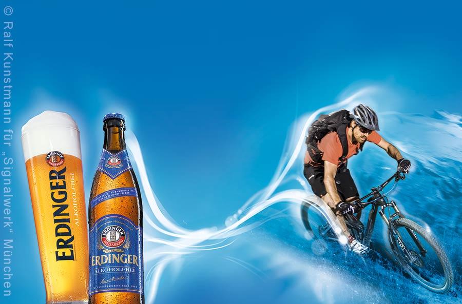 Moutainbiker_Flasche