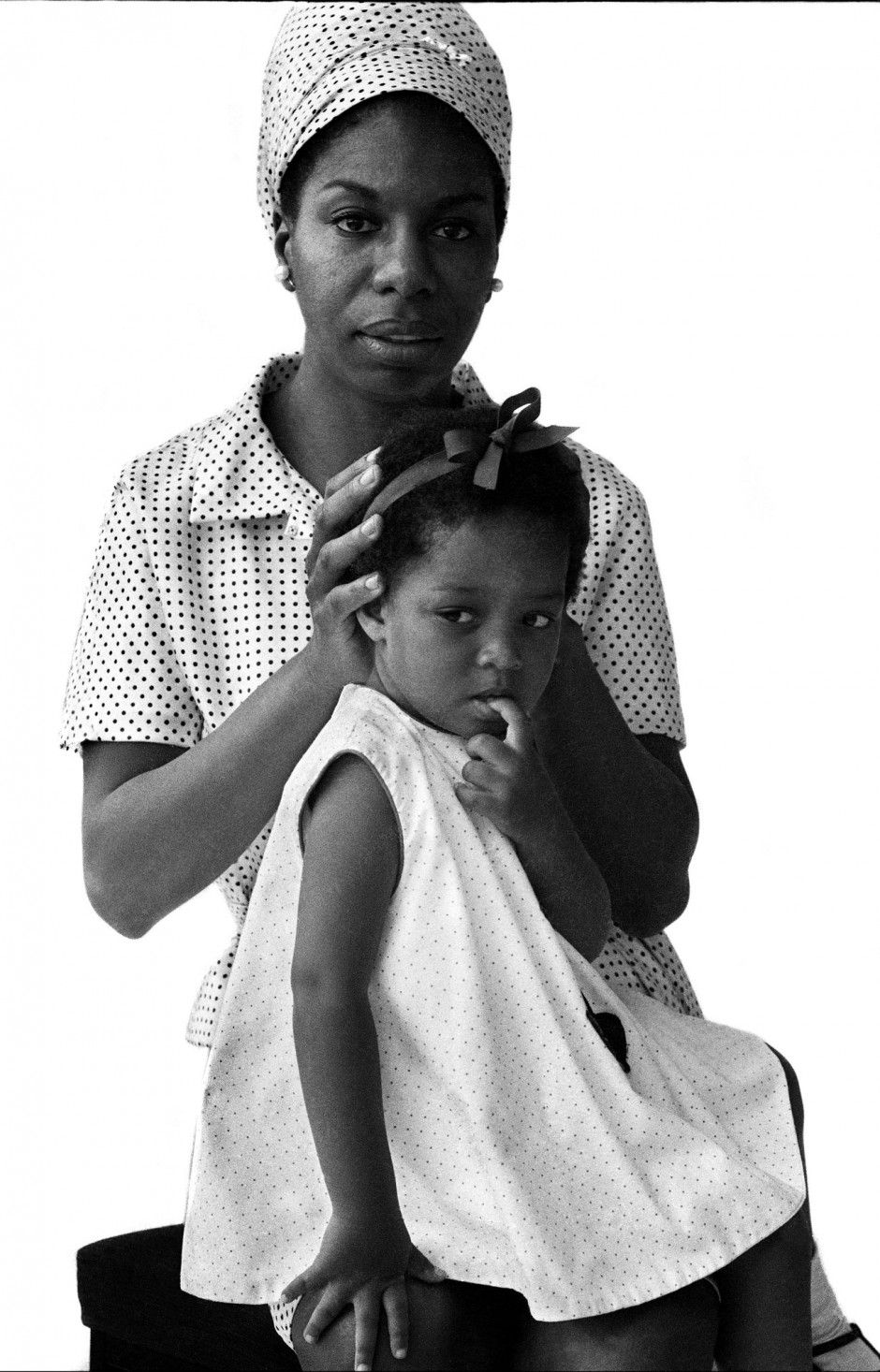 © Brian Duffy, Nina Simone and her daughter