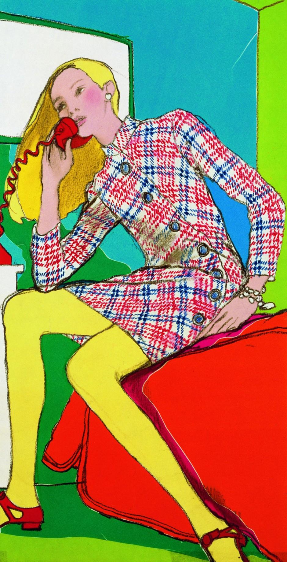 Antonio, At Home, 1967, veröffentlicht in The New York Times Magazine, Mixed Media, 56 x 22 cm