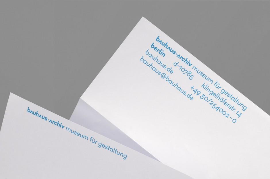 bauhaus-archiv – Briefpapier