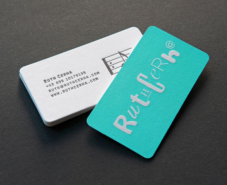 Ruth Cerha– Visitenkarten
