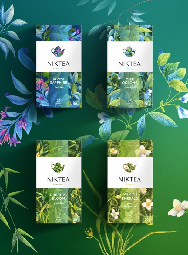 Die Tee-Labels überschlagen sich derzeit darin, schöne illustrierte Packagings zu lancieren. Dieses illustrierte Design kommt von BrandExpert Freedom Island aus Moskau.