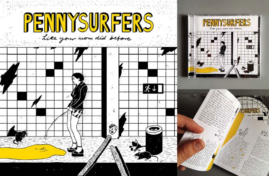 Album Artwork »Pennysurfers«