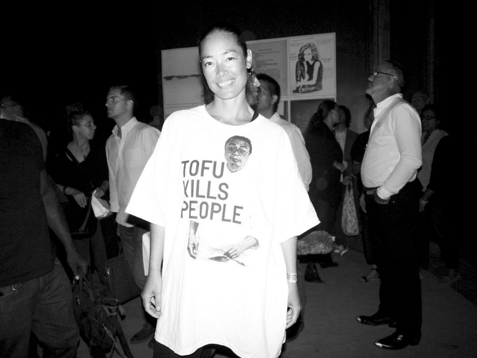 Rirkrit Tiravanija: Tofu kills People. Cecilia Dean