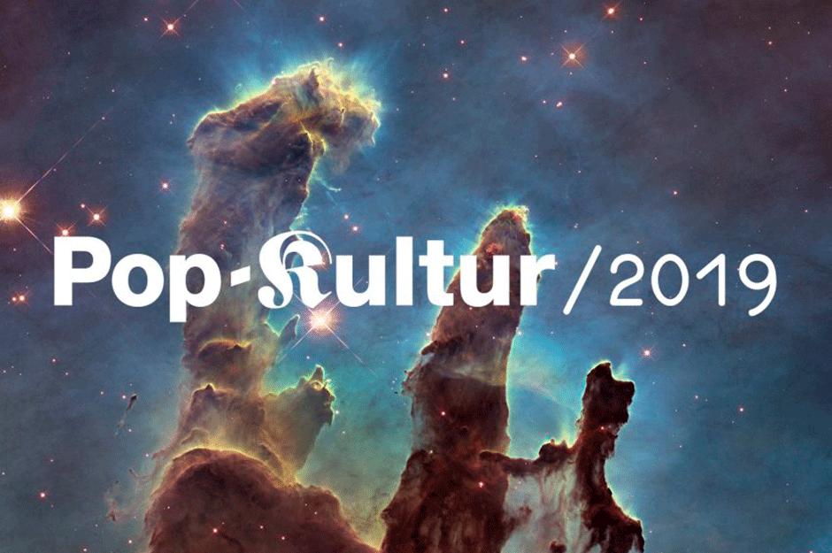 Kampagne für das Pop-Kultir Festival von fertig design