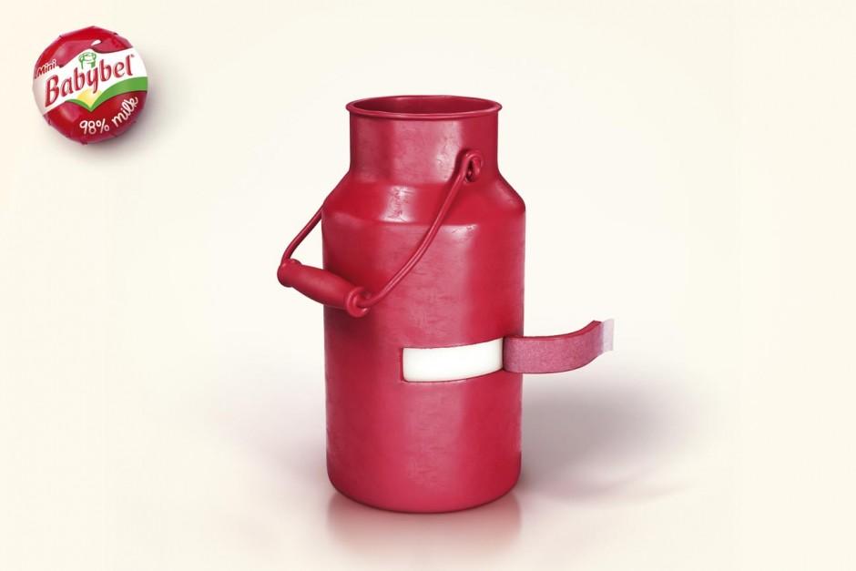 Milk Jug, 2013, France, in Auftrag gegeben von Bel, Babybel, ausgezeichnet als Silver Lion Campaign, 2014