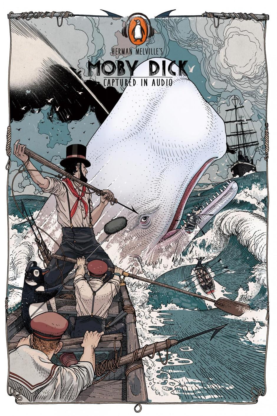 Moby Dick, 2013, China, Werbung für Penguin China, Audio Books, ausgezeichnet als Silver Lion Campaign, 2014