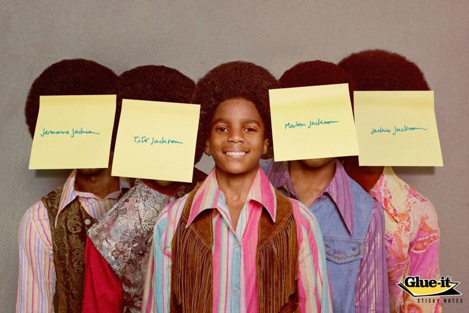 Jackson 5, Ecuador, in Auftrag gegeben von Glue it, Sticky Notes Aus gezeichnet als Bronze Lion Campaign, 2014