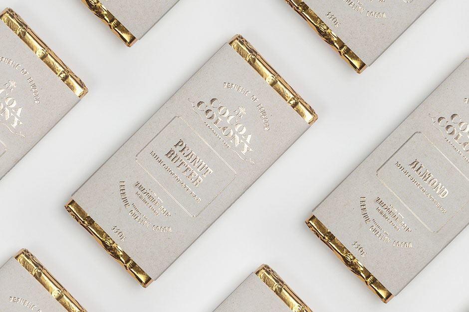 Corporate Design für die Schokoladenmarke Cocoa Colony