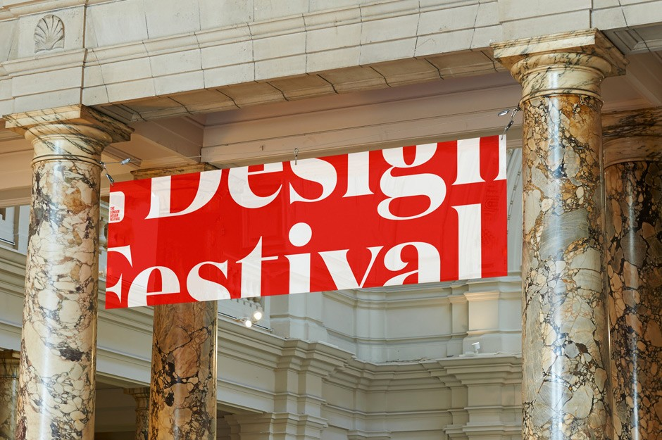 Dieses Jahr entwickelten Pentagram das typografische Erscheinungsbild