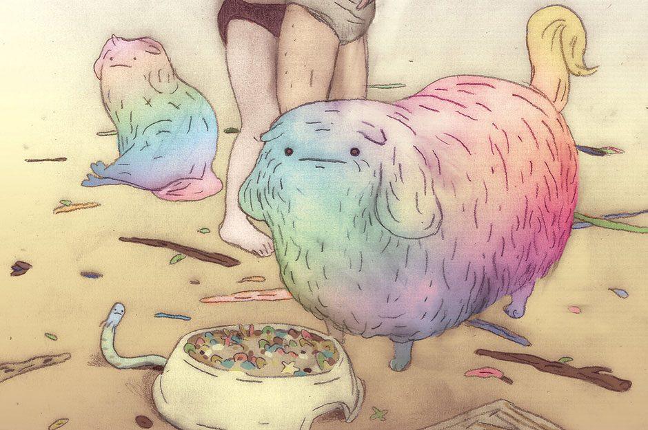 Illustratorin aus Hamburg mit Hang zur Melancholie