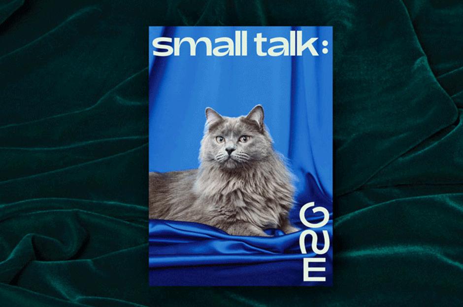 Katzenschrift für Katzenfutter-Marke Smalls