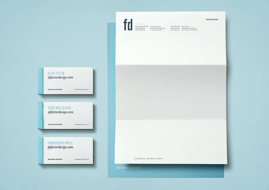Factor Design – Geschäftsausstattung