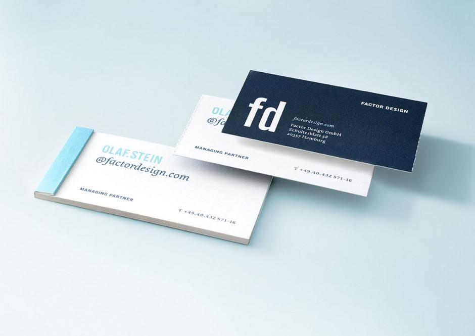 Factor Design – Visitenkarten