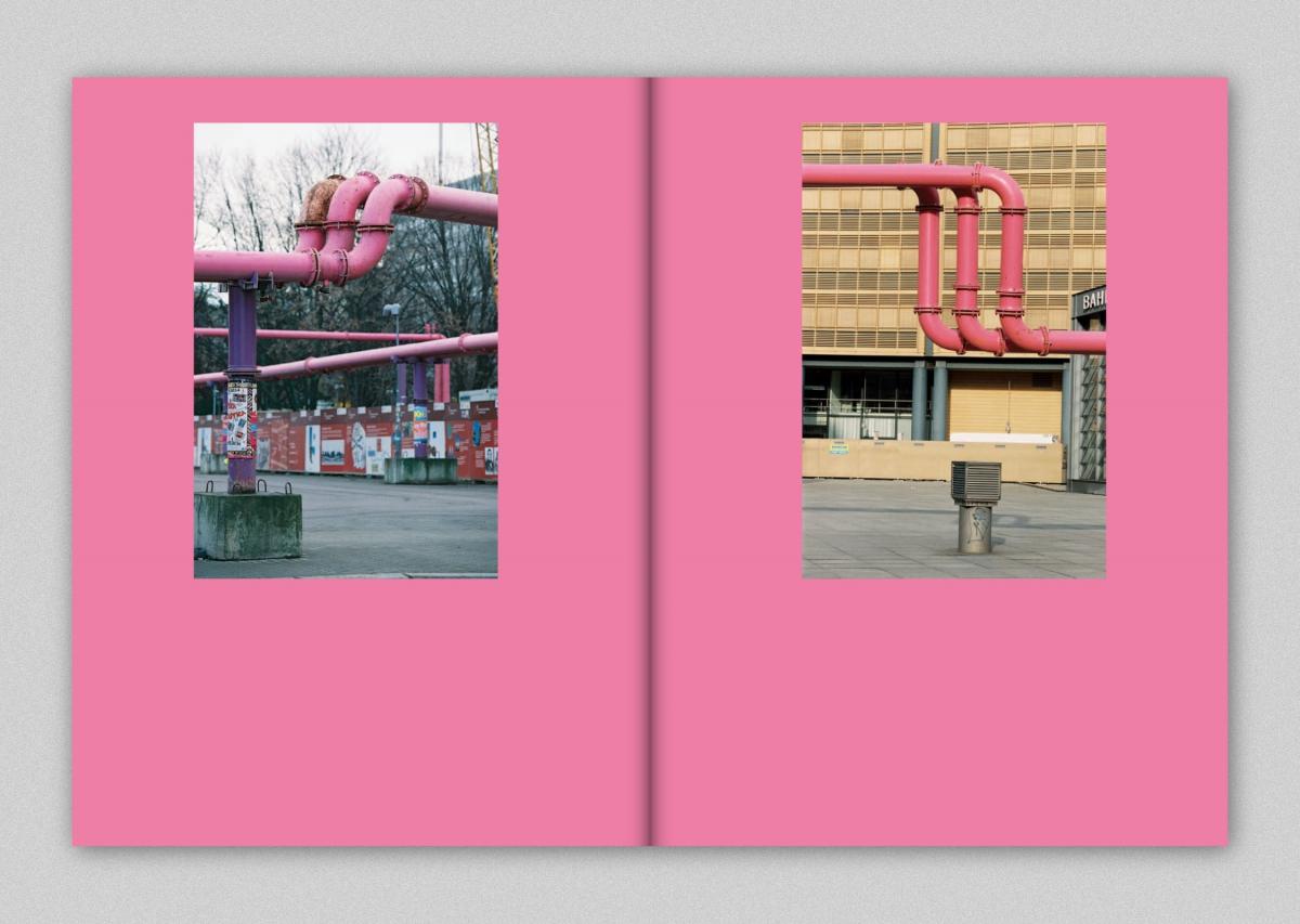 Jürgen Große Stadt #01: Rohrlandschaften, erschienen bei possible books, Berlin