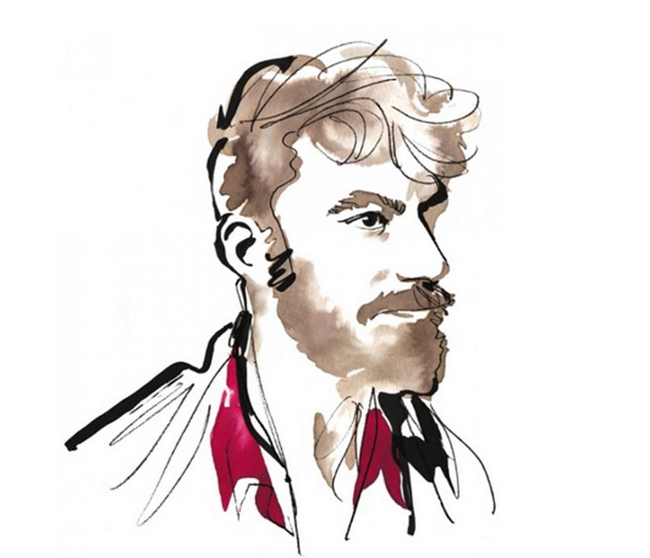 Joachim Baldauf, gezeichnet von Daavid Mörtle