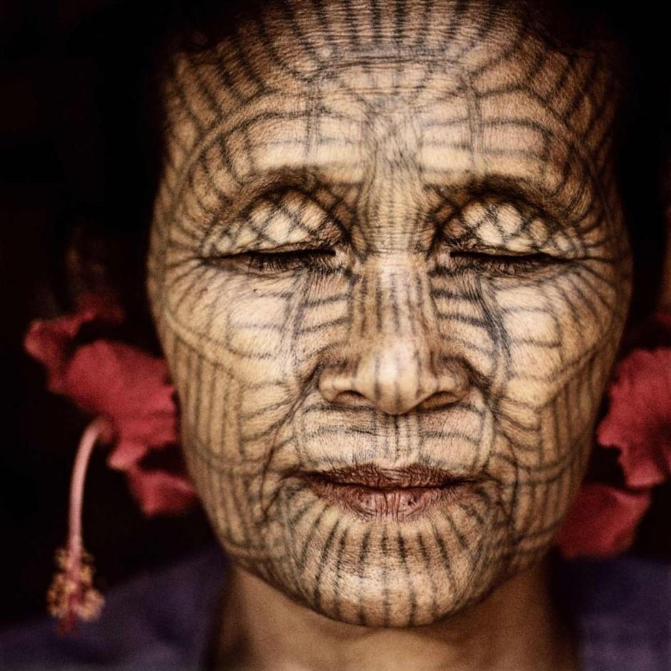 Ma Hla Oo aus Laytu-Chin, Nördliches Rakhine, Burma Foto: Jens Uwe Parkitny