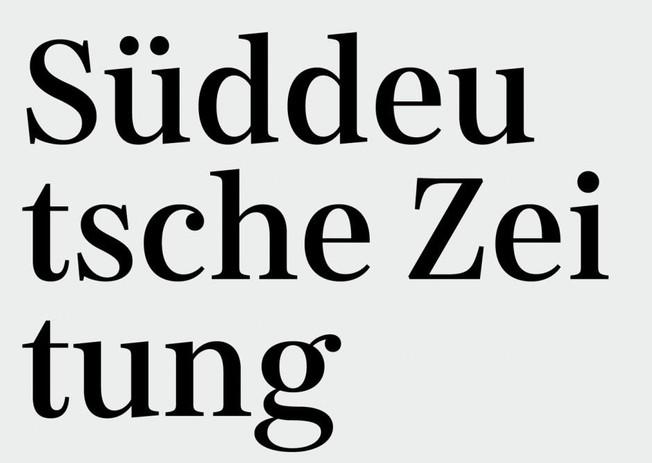 Nils Thomsen war während seiner Zeit bei dem Büro ErlerSkibbeToensmann maßgeblich an der Entwicklung der Hausschrift für die Süddeutsche Zeitung beteiligt. Es entstand eine Schriftfamilie mit fünf Schriften (SZ Text, SZ Serif, SZ SerifCond, SZ Sans, SZ SansCond).
