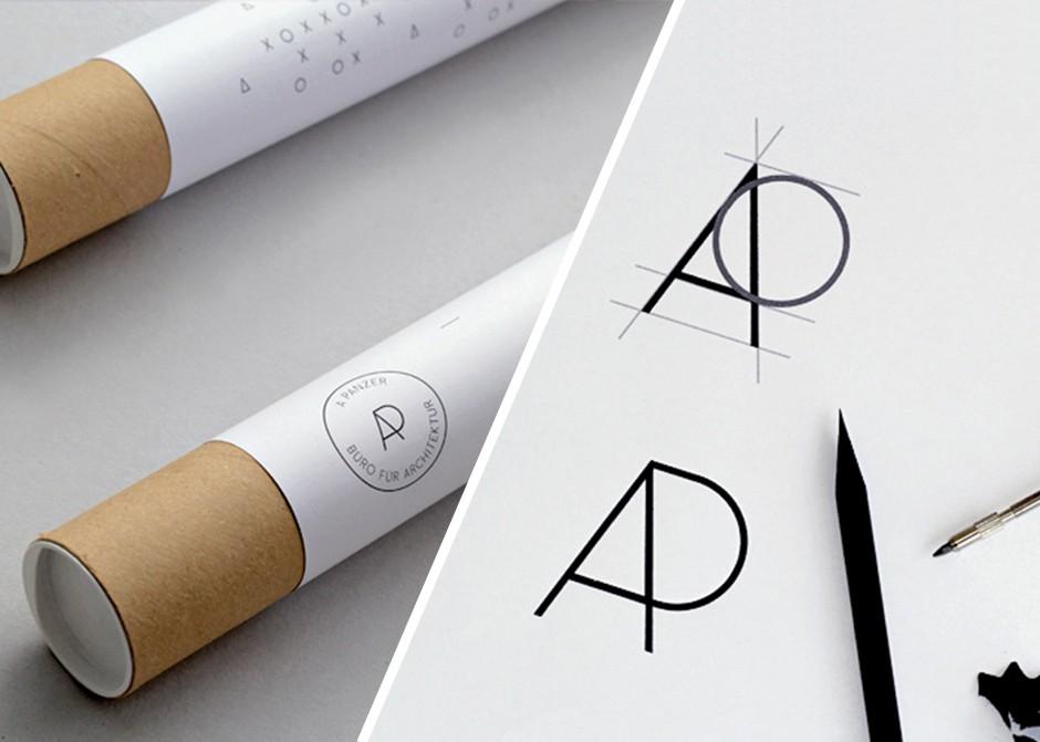 Corporate Design für das Kölner Architekturbüro A Panzer (2012)