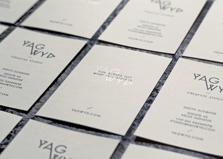 Corporate Design für YAGWYD - Creative Studio (2012)