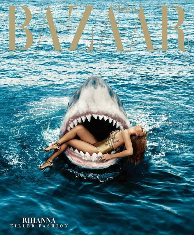 Rihanna tut sogar der größte weiße Hai nichts …