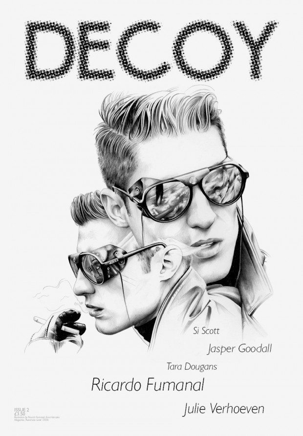 Cover-Illustration für das Magazin »Decoy« von Ricardo Fumanal