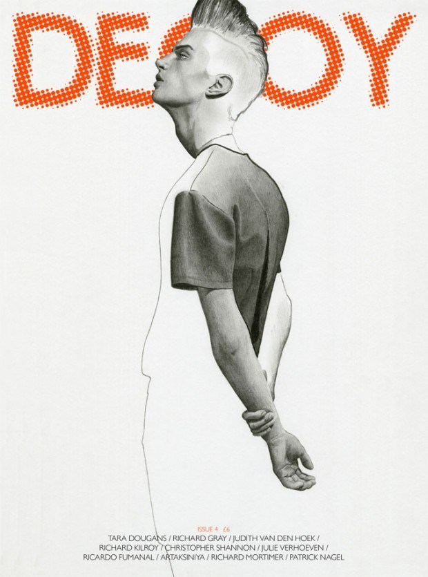 Cover-Illustration für »Decoy« von Richard Kilroy mit Model Matthew Bell