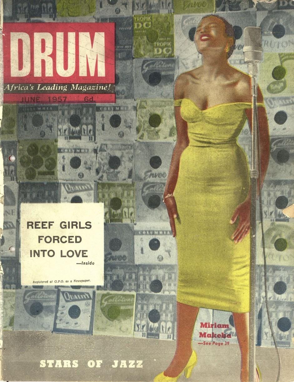 Miriam Makeba Cover, June 1957