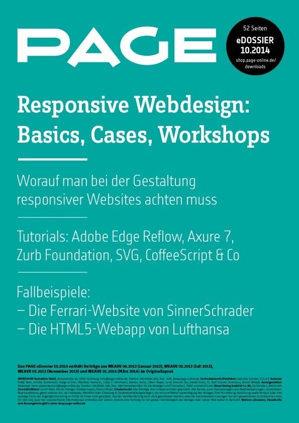 Responsive Webdesign Tutorials | PAGE online