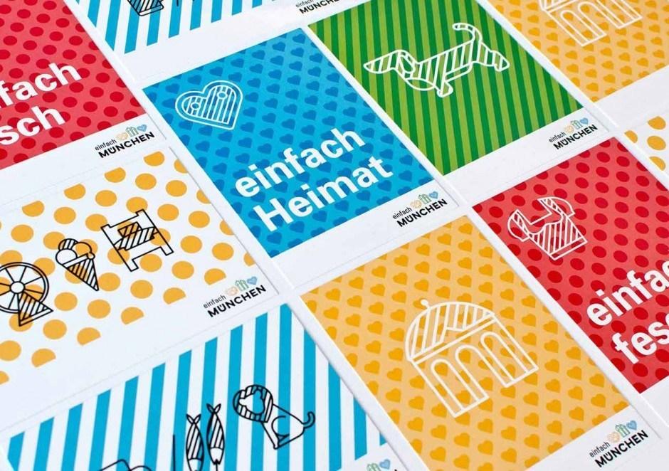 Corporate Design für München Tourismus von Zeichen & Wunder