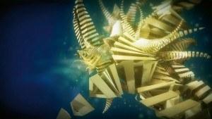 Surreales Setting: In Metaworlds navigiert der User durch Welten in ständiger Metamorphose. In Aktion erinnern diese geometrischen Formen des Motivs »Twister« an die Tentakeln eines Meerestiers