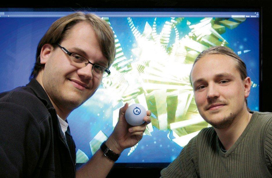 Das Metaworlds-Team: Christian Freitag und  Paul Kirsten