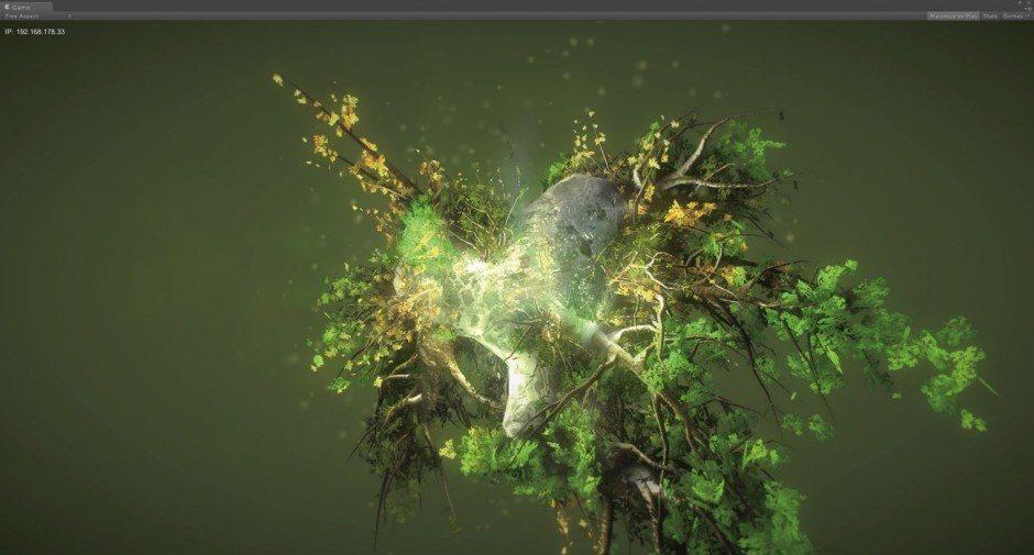 Weltbilder:  Die Metaworlds beamen den User mit einem Klick in völlig neue Mikrokosmen, die hier eher organisch anmuten