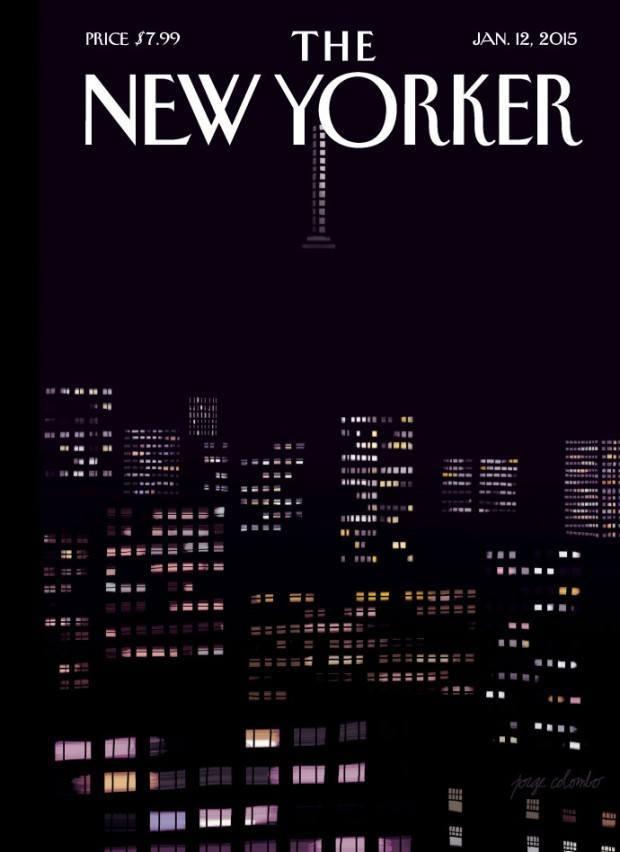 Illustration: Jorge Colombo malte diese Cover-Illustration nach der »Natur«, nämlich von einem Hochhaus in Chelsea aus. Und zwar auf dem iPad, wie viele seiner Arbeiten, http://www.jorgecolombo.com/