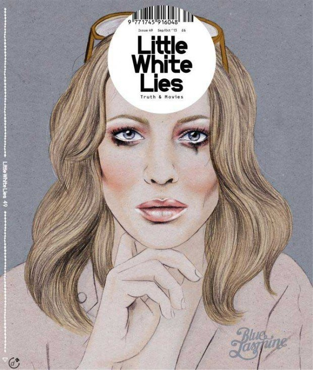 Illustration: Cate Blanchett für das Kino-Magazin »Little White Lies« illustriert von Kelly Thompson, http://kellythompsoncreative.com/